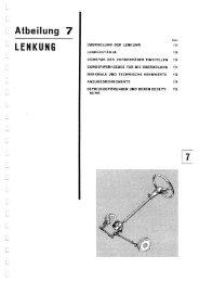 Albeilung 7 LENKUNG - Fiat 500 Klub Danmark