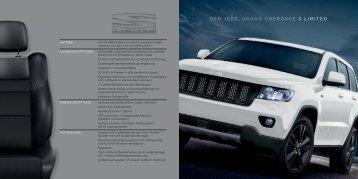 DER JEEP® GRAND CHEROKEE S LIMITED - Autohaus Weitmann