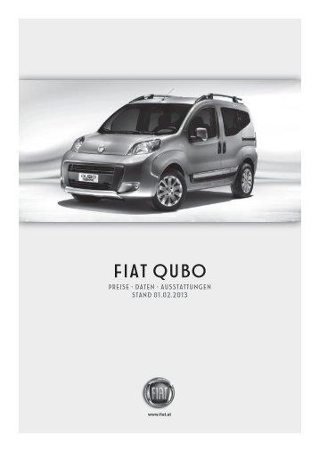 Preisliste Fiat Qubo - Fiatpress.at