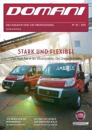 Domani - Das Magazin von Fiat Professional | Ausgabe 01/2011