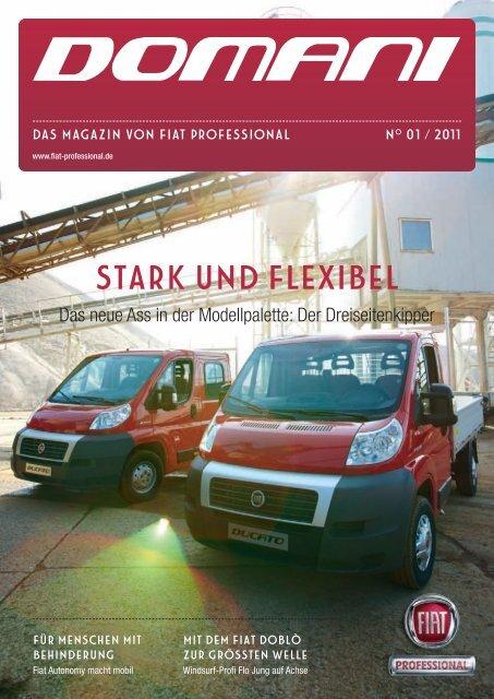 Domani - Das Magazin von Fiat Professional   Ausgabe 01/2011