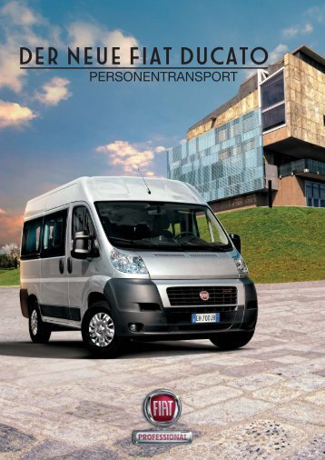 fiat ducato warentransport katalog fiat autohaus str hla. Black Bedroom Furniture Sets. Home Design Ideas