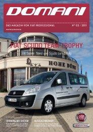 FIAT SCUDO TEAM TROPHY - Fiat Professional