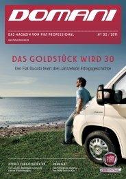 DAS GOLDSTÜCK WIRD 30 - Fiat Professional