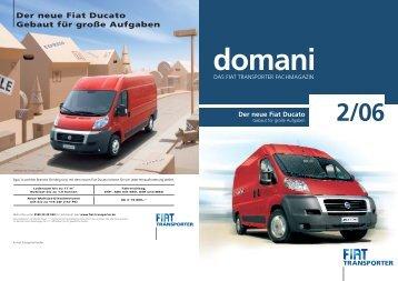 Der neue Fiat Ducato Gebaut für große Aufgaben - Fiat Professional