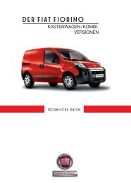 Technische Daten - Fiat Professional