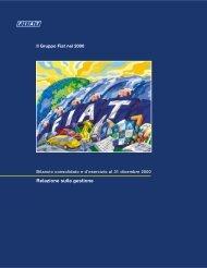 Relazione sulla gestione - Fiat SpA
