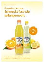 Gerolsteiner Limonade: Schmeckt fast wie selbstgemacht. - trndload