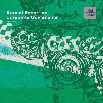 Annual Report on Corporate Governance (February 2009) - Fiat