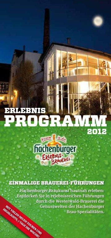 Programm 2011 - Hachenburger
