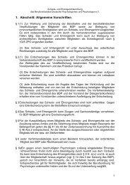 Schieds- und Ehrengerichtsordnung - BDP