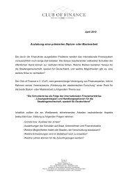Auslobung einer prämierten Diplom- oder Masterarbeit - Bfw.rwth ...