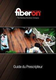 Brochure technique pour Architectes - Fiberdeck