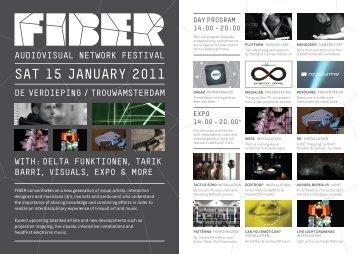 sat 15 JanuarY 2011 - FIBER Space