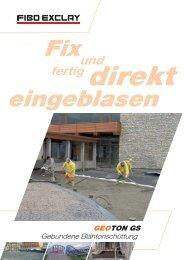 geoton gs - Fibo Exclay Deutschland GmbH