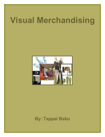 The visual merchandising concept in a contemporary for Visual merchandiser interview questions