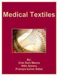 Medical Textiles - Fibre2fashion