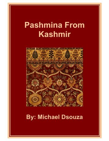 Pashmina From Kashmir - Fibre2fashion