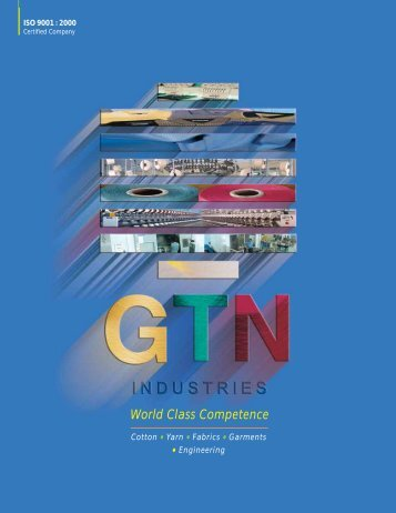 GTN Industries Brochure - Fibre2fashion