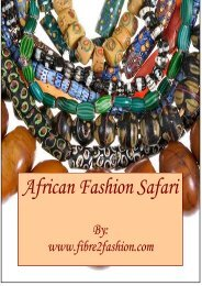 African Fashion Safari - Fibre2fashion