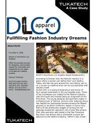 Fullfilling Fashion Industry Dreams - Tukatech