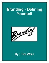 Branding - Defining Yourself - Fibre2fashion