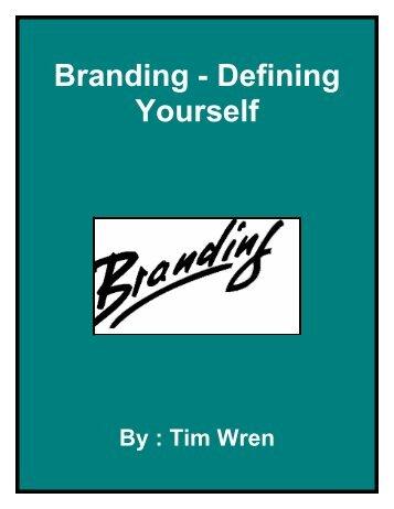 Branding - Defining Yourself - Fibre2fashion