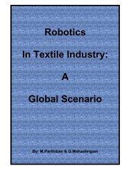 Robotics In Textile Industry: A Global Scenario - Fibre2fashion