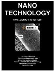 SMALL WONDERS TO TEXTILES! - Fibre2fashion