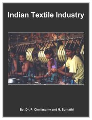 Indian Textile Industry - Fibre2fashion