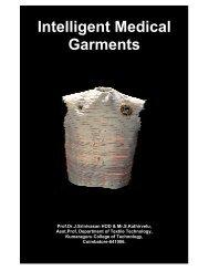 Intelligent Medical Garments - Fibre2fashion