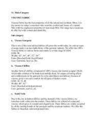 11. Main Category VISCOSE FABRIC Viscose Fabric ... - Fibre2fashion