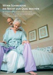Wenn Schmerzen die Nacht zur Qual machen - Fibromyalgie Forum Schweiz