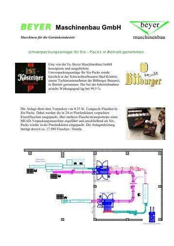 Bericht für Homepage-News - Beyer Maschinenbau GmbH