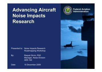 the effects of aircraft noise on health Recommended for the protection of health aircraft noise  health-based noise targets this has had knock-on effects  'aircraft noise and public health:.