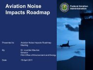 Aviation Noise Impacts Roadmap - FICAN