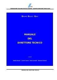 Manuale del Direttore Tecnico (pdf da 671 Kb) - Fidal Lombardia