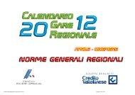 Norme generali regionali - Fidal Lombardia