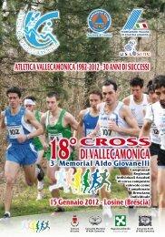 SCARICA IL DEPLIANT IN FORMATO .pdf - Atletica Vallecamonica