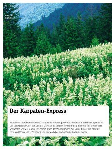 Druckversion: Der Karpaten-Express - 4-Seasons.de