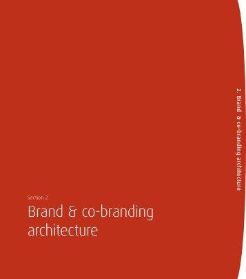 Brand & co-branding architecture