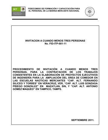 Resumen de Convocatoria - Fidena