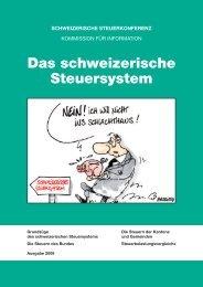 Das schweizerische Steuersystem - Fidfinvest Treuhand, Zug