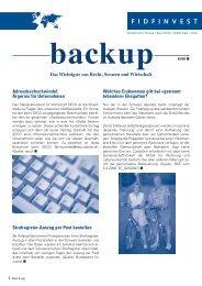 Adressbuchschwindel - Fidfinvest Treuhand, Zug