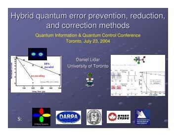 Presentation - University of Toronto