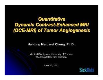 DCE-MRI - University of Toronto