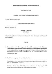 Fielmann Aktiengesellschaft registered in Hamburg - NeoOffice/J 1.1 ...