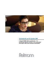 Fielmann-Bericht 30.9.2009