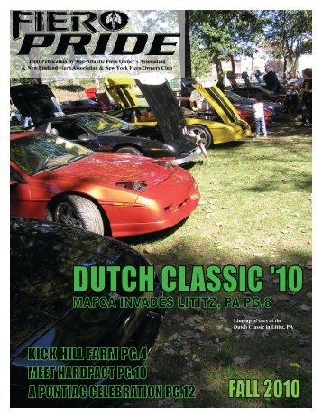 September 2010 Issue - New England Fiero Association