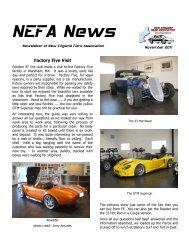 November 2011 Issue - New England Fiero Association
